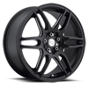 NR6 - M106 Stone Black & Milled Spoke
