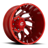 Runner Dually Rear - D742 Candy Red Milled - 20x8.25 - ET-214