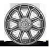 Fuel 1-Piece Wheels Siege - D705