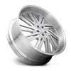 5 LUG STATICA - XB10 BRUSHED W/ GLOSS CLEAR