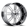 5 LUG SV9-S BRUSHED BLACK