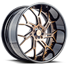 5 LUG SV72-XLT BRUSHED BRONZE W/ BLACK ACCENTS