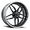 Schott Wheels - Apex Matte Black w/ Brushed Aluminum
