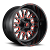 Stroke - D612 Gloss Black w/ Candy Red