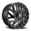 Triton Dually Front - D581 Gloss Black & Milled
