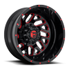 Triton Dually Rear - D656 Gloss Black w/ Candy Red