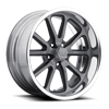 5 LUG RAMBLER - US390 MATTE BLACK WINDOWS | BRUSHED FACE | MATTE DDT