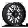 Fuel UTV Wheels Stroke - D611 - UTV