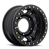 5 LUG 103 XTREME WIDE 5 TRUE BEAD-LOCK OFF RD USE ONLY SATIN BLACK WITH SATIN BLACK BEAD-LOCK