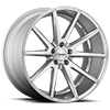 5 LUG VFS-1 SILVER WITH BRUSHED FACE