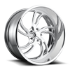 Villain 5 - US725 22x10.5 | Brushed Polished