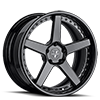 5 LUG VUH CONCAVE FULL BLACK