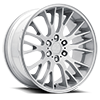 6 LUG V22 DUO SATIN SILVER MACHINED