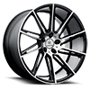 5 LUG V25 QUANTUM SATIN BLACK MACHINED DARK TINT