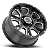5 LUG 399 FURY GLOSS BLACK WITH MILLED SPOKE