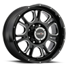 399 Fury Gloss Black with Milled Spoke