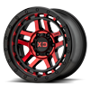 XD140 Recon Gloss Black Machined Face w/ Red