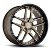 5 LUG PREMIO MATTE BRONZE WITH GLOSS BLACK LIP