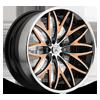 CX822 in Black w/ Orange Trim