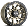 8 LUG 9303 DT-1 SATIN GOLD W/ OPTIONAL RASH RING