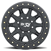 8 LUG 9304 DT-2 MATTE BLACK W/ OPTIONAL RASH RING