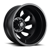 FF39D - 8 Lug Rear Matte Black