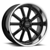 5 LUG VN507 RODDER GLOSS BLACK W/ DIAMOND CUT LIP