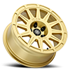 5 LUG RICOCHET - 15IN GLOSS GOLD