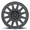 5 LUG RICOCHET - 15IN SATIN BLACK
