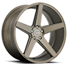 5 LUG KM685 DISTRICT MATTE BRONZE