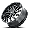 5 LUG 142 SCRILLA GLOSS BLACK MILLED