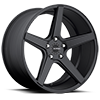 5 LUG KM685 DISTRICT SATIN BLACK