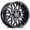 6 LUG 8110 TRIPWIRE GLOSS BLACK MILLED