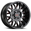 6 LUG 8110 TRIPWIRE GLOSS BLACK RED MILLED