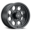5 LUG CLASSIC III™ BLACK - 17X9 SATIN BLACK W/CLEAR COAT