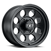 6 LUG CLASSIC III™ BLACK - 17X9 SATIN BLACK W/CLEAR COAT