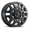 003 AWD Transit Van Wheel Satin Black with Satin Clear Coat