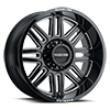 8 LUG 948 SPLIT GLOSS BLACK MILLED