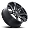 6 LUG MOZAMBIQUE GLOSS BLACK WITH MILLED SPOKE