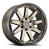 Oceano Matte Bronze w/ Black Lip Edge - 20x9.5