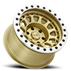 6 LUG PRIMM BEADLOCK MATTE GOLD W/ MACHINED RING