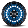 6 LUG SENTINEL COBALT BLUE W/ BLACK LIP EDGE