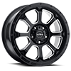 219 Nemesis CUV Gloss Black with Milled Accents and Clear Coat