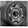 106 Sawblade Xtreme Satin Anthracite Grey with Satin Black X-Lok Lip