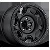 106 Sawblade Xtreme Satin Black with Satin Black X-Lok Lip