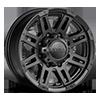 226 Machine Trailer Satin Black with Satin Clear-Coat