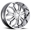 5 LUG GODFATHER CHROME
