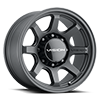 351 Flow Satin Black 17x9