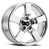 5 LUG LIGHTNING CHROME