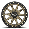 8 LUG 9304 DT-2 SATIN GOLD W/ OPTIONAL RASH RING